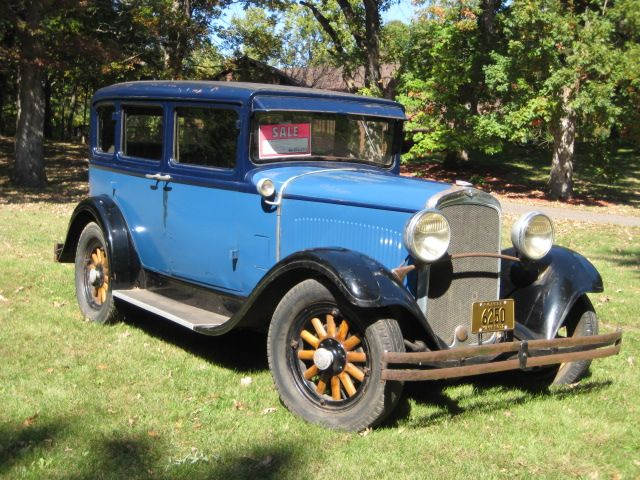 Fs 1929 dodge brothers model da sedan vintage for 1929 dodge 4 door sedan