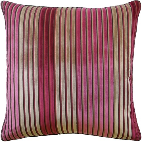 Fuschia Velvet Throw Pillows : Pin by Inside Fabric on Decorate with Stripes Pinterest
