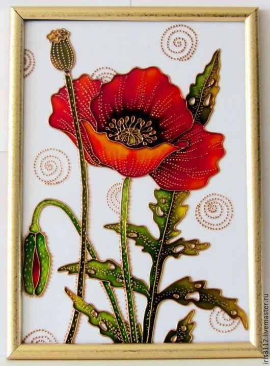 Лёгкий рисунок вазы с цветами