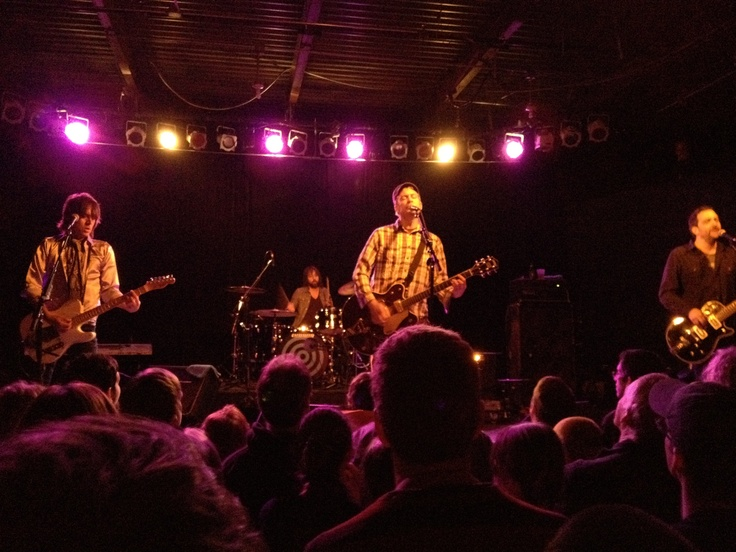 Fountains of Wayne, my song lyric heroes, at Cat's Cradle in Chapel Hill, 2012.