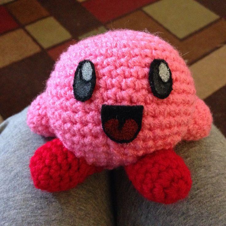 Crochet amigurumi Kirby Hollys Hooks Pinterest