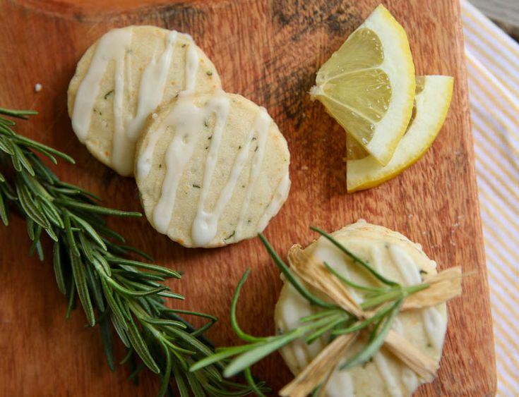 Rosemary Lemon cookies | Herbal Food | Pinterest