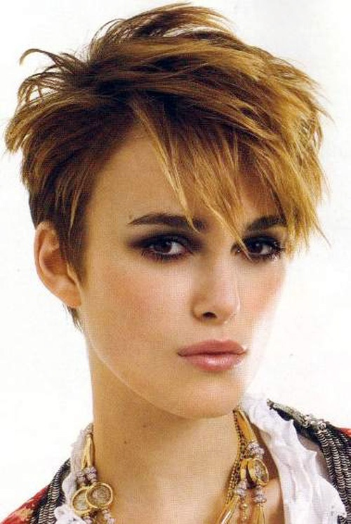 I love a girl who can pull of super short hair in a feminine way