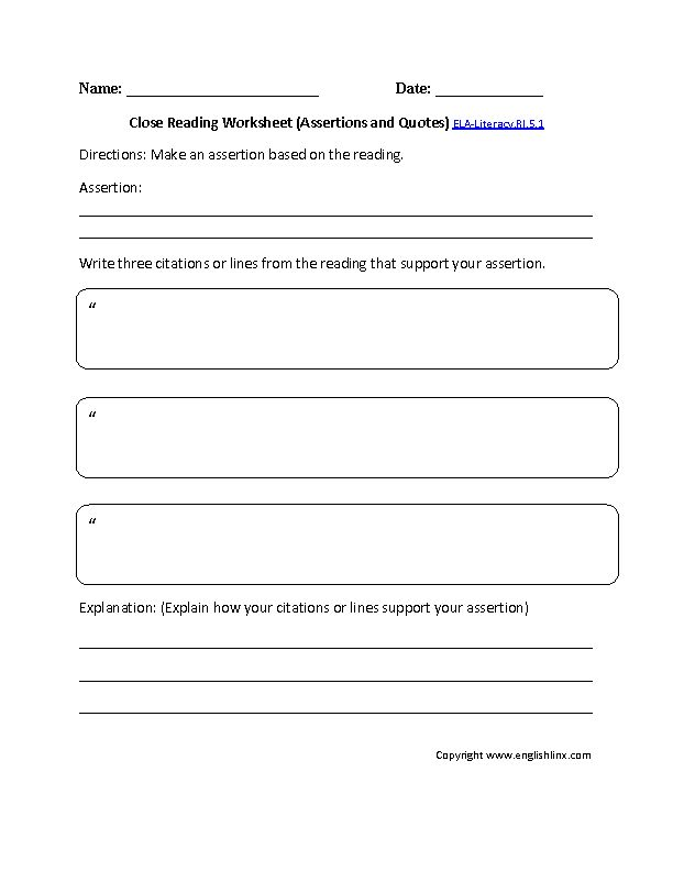 ... Reading Worksheets Grade 3. on informational text worksheets grade 8