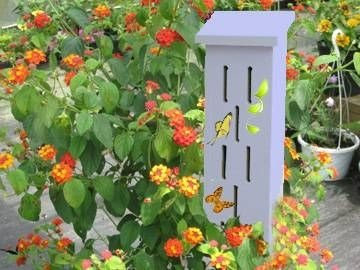Make Your Own Butterfly House Primitive Decor Pinterest