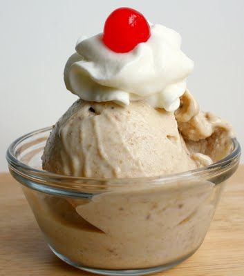 Roasted Banana Ice Cream | Get in my belly! | Pinterest