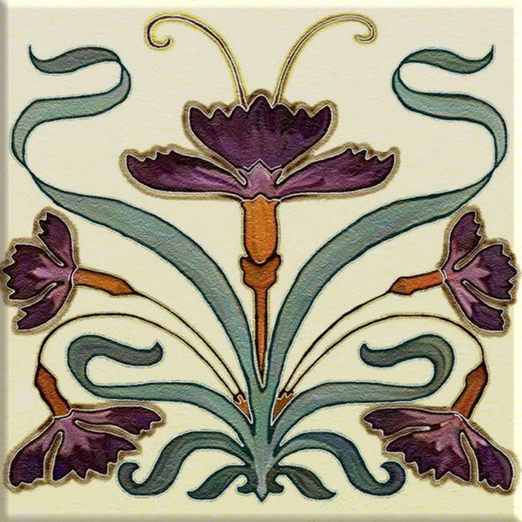 Ceramic decorative tiles