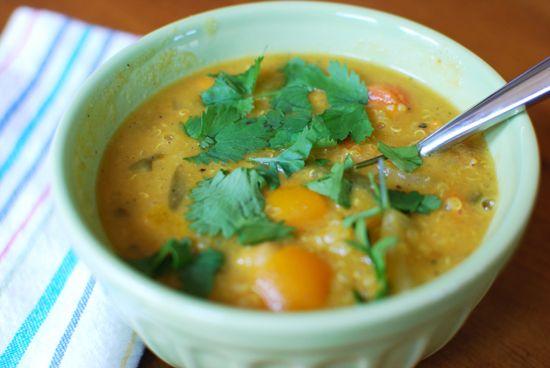 Moroccan Coconut And Chick Pea Soup Recipe — Dishmaps