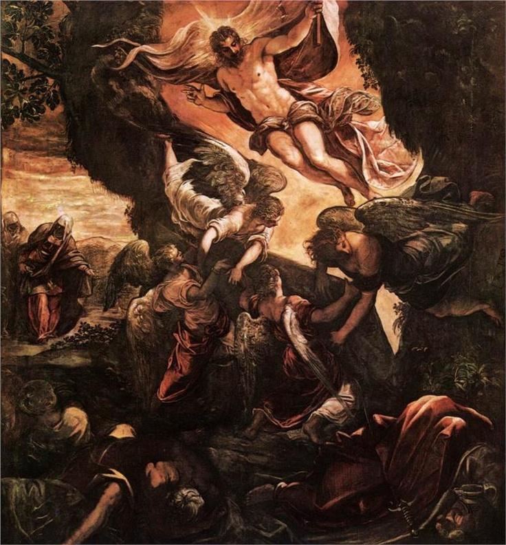 Tintoretto, The Resurrection, 1579-81. Scuola Grande di San Rocco