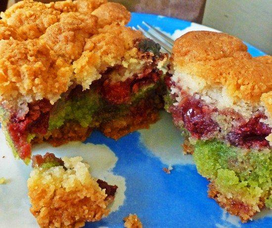 Paris pastry crumb pistachio cherry | Foods of the World | Pinterest