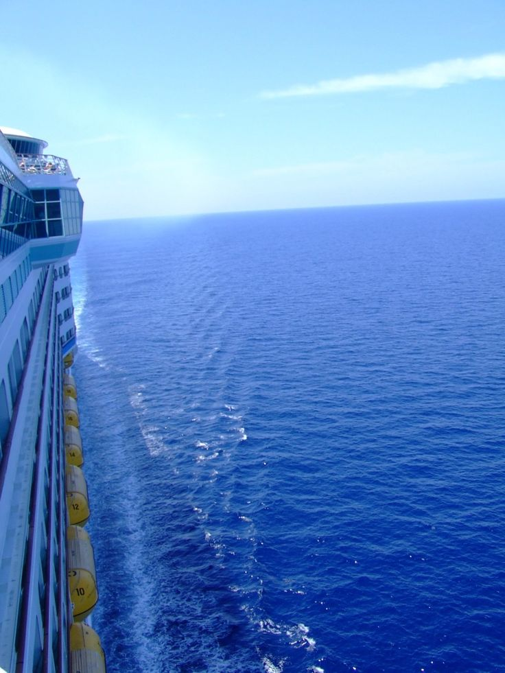 Ocean views from Adventure of the Seas.