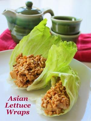 Asian Lettuce Wraps | eat it | Pinterest