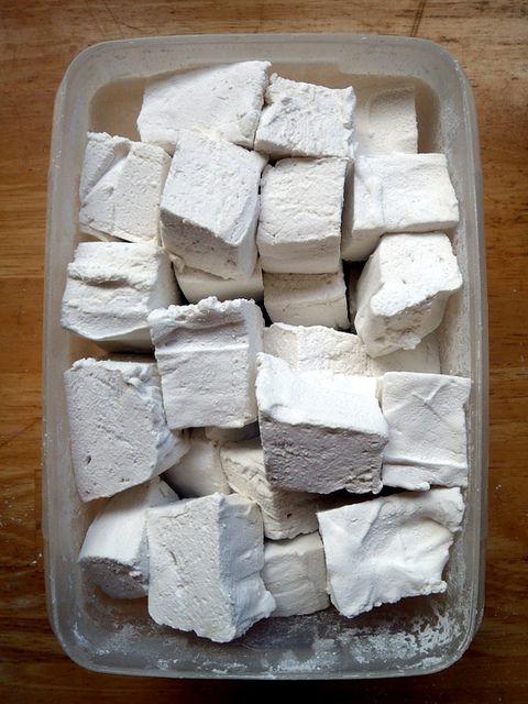For Homemade Vanilla Marshmallows http://stlcooks.com/2013/07/homemade ...