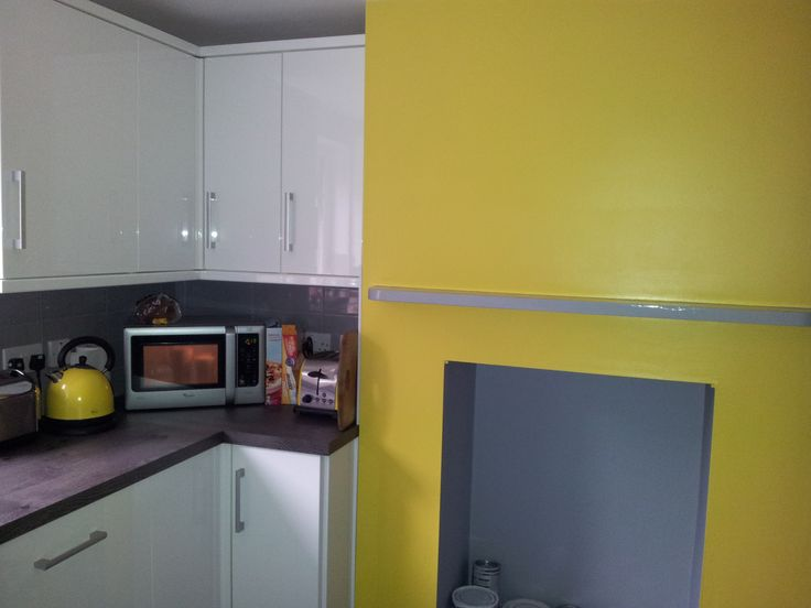yellow and dove grey and white kitchen kitchen pinterest