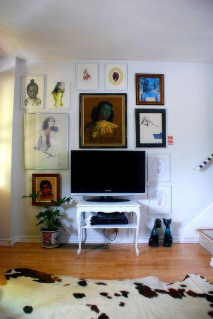 Decorating Around A Flat Screen Tv Home Inspiration