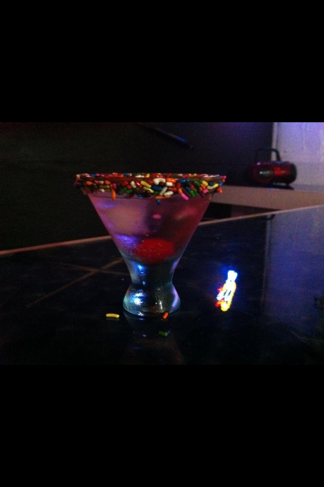 Marshmallow cake tini | what's in the menu | Pinterest