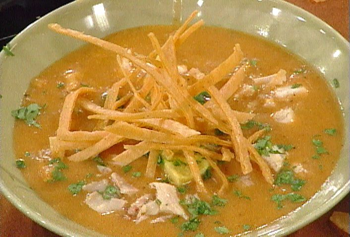 Tortilla Soup from FoodNetwork.com