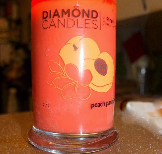 Diamond candle ring inside diamond candles pinterest