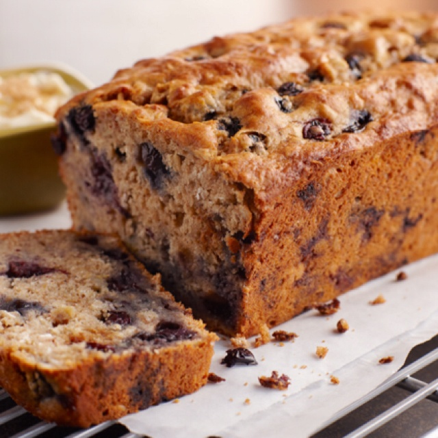Blueberry banana oat bread | Recipes | Pinterest