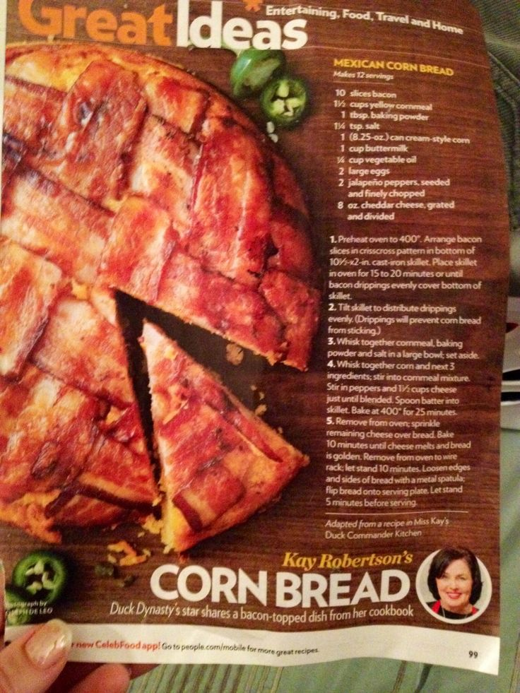 Bacon cornbread recipe | this stuff was to die for, and addicting...