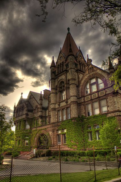 Old Vic building at Victoria College, University of Toronto