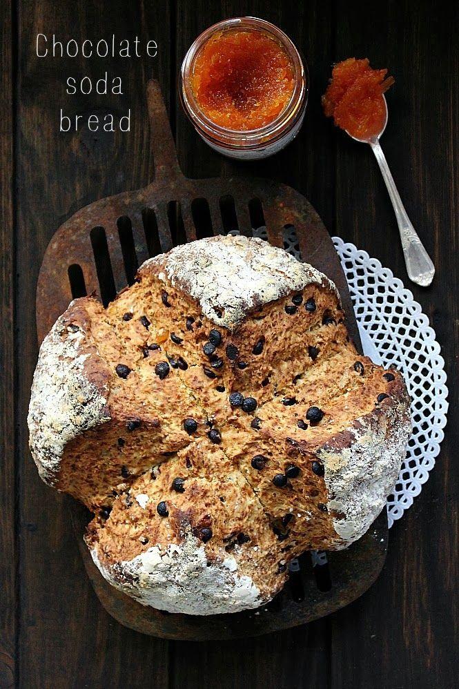 Chocolate&Orange Soda Bread. | Bodegones | Pinterest