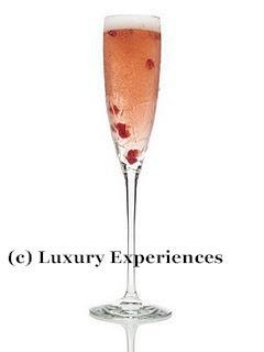 Champagne Gently muddle the Bing Cherries with Skyy Infusions Cherry ...