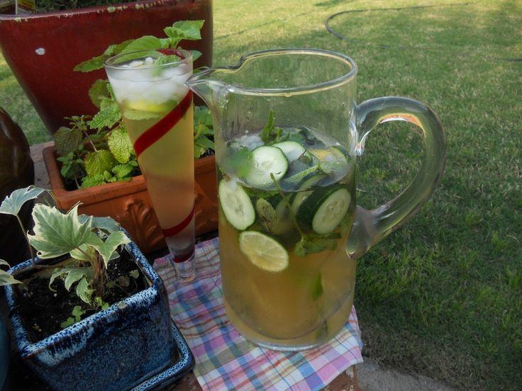 Cucumber Green Tea Cooler   A Wonderland of Tea   Pinterest