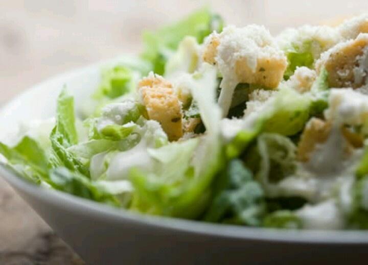 Ah yes, my kind of food: Caesar Salad