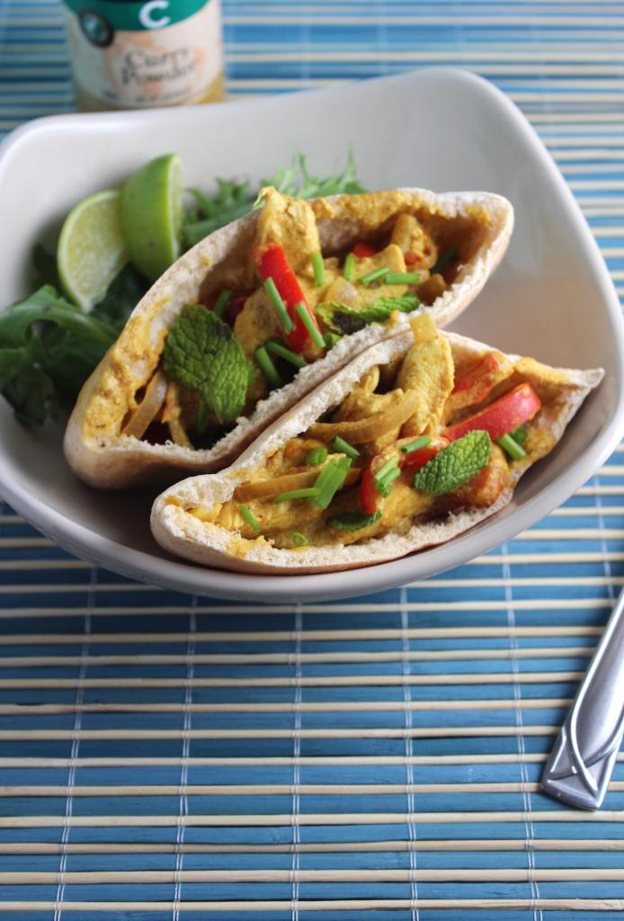 ... chicken curry pitasrecipe curried chicken salad pita curried chicken