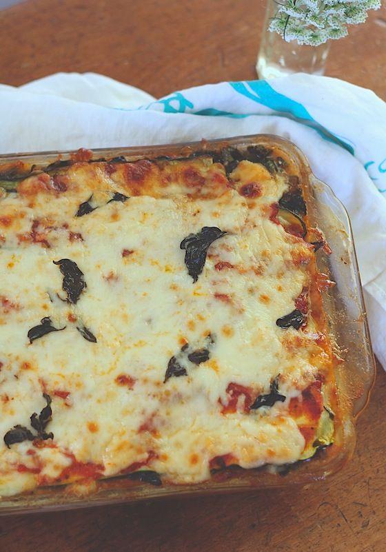 Kitchen Vignettes by Aubergine: Zucchini (No Noodle) Lasagna
