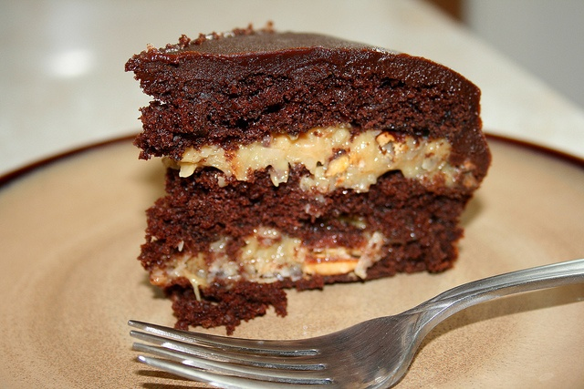 Inside-Out German Chocolate Cake | Food Love: Cakes | Pinterest