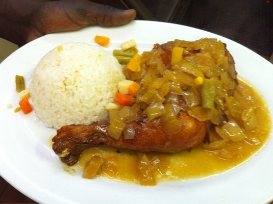 More yassa chicken | NO! I don't only think about food...just mostly ...