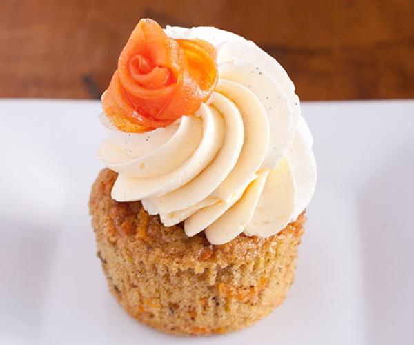 Luscious Carrot Cake Cupcakes | | Recipes | Pinterest