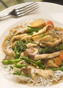 Vegetarian Mushroom Stir-Fry | Veggie & Vegan Menu | Pinterest