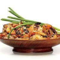 Grilled Five-Spice Shrimp Can also Sauté instead.