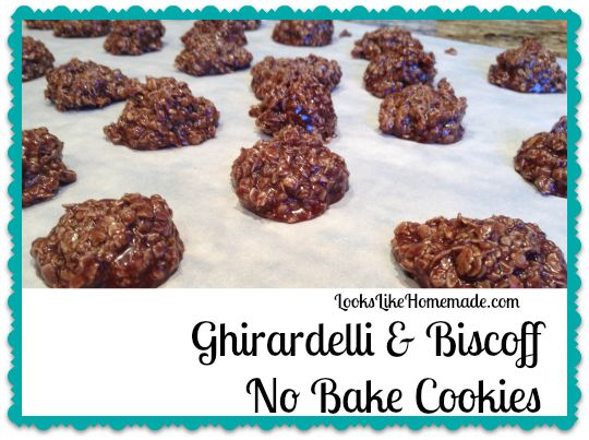 These fabulous and easy no bake cookies combine two of my favorite ...