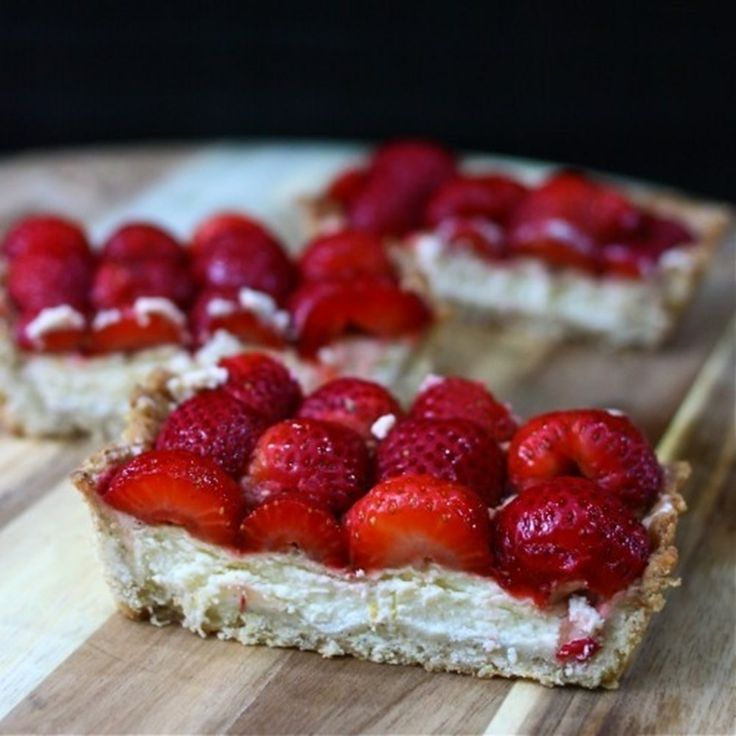 Strawberry Mascarpone Tart | Health And Fitness | Pinterest