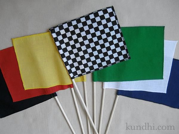 making flags
