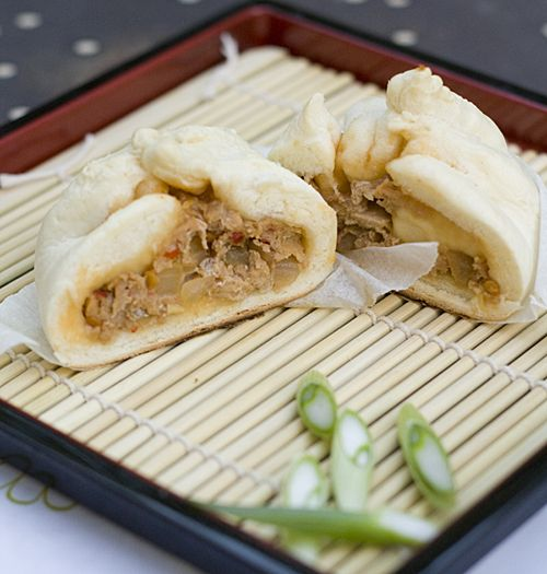Nikuman---Japanese steamed pork buns | Recipes: Main Dishes-Beef and ...