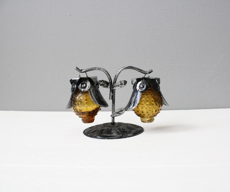 Hanging owl salt amp pepper shakers for the home pinterest