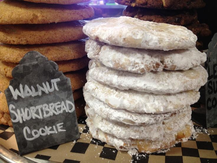 The Black Rooster Bakery Walnut Shortbread Cookies