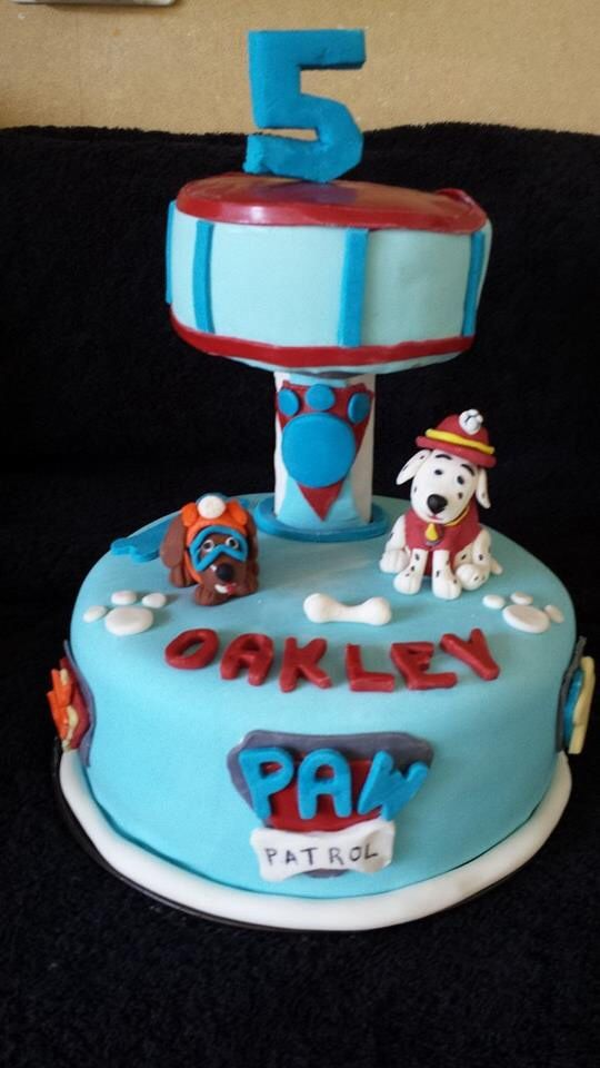 paw patrol cakes images