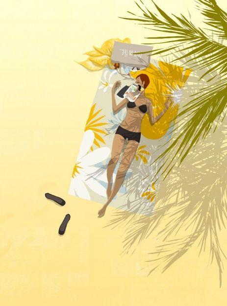 Matthieu Forichon - Love on the beach