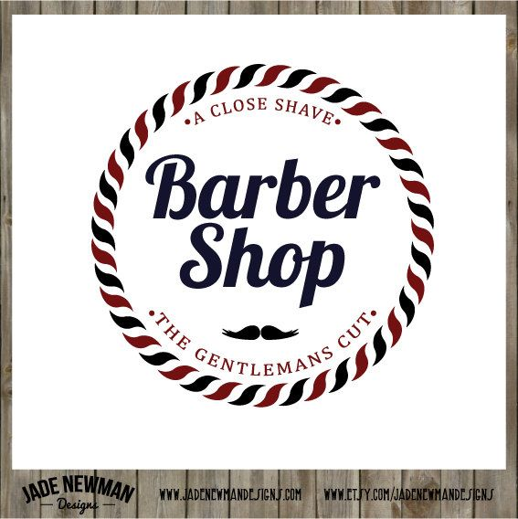 Barber Shop 2 Retro Vintage Logo Design by ...