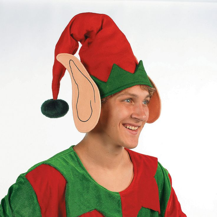 Elf Hat With Ears | Mad Elf Party | Pinterest