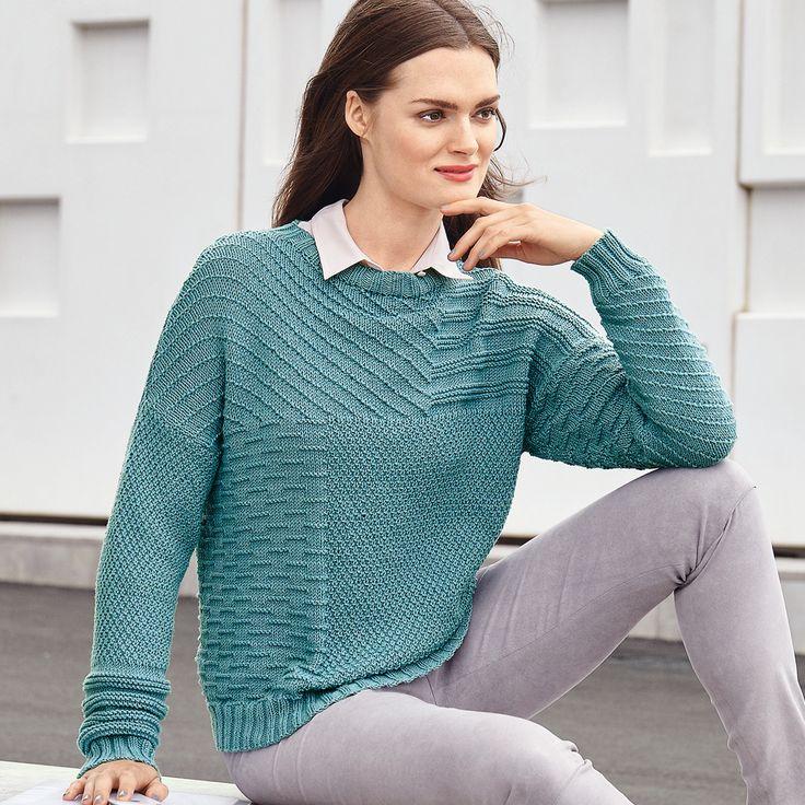 Узоры вязания свитера женского 134