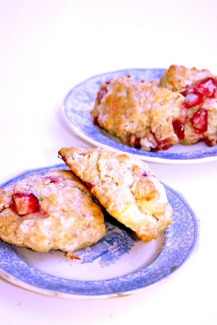 Fresh Strawberry Scones | Scones | Pinterest