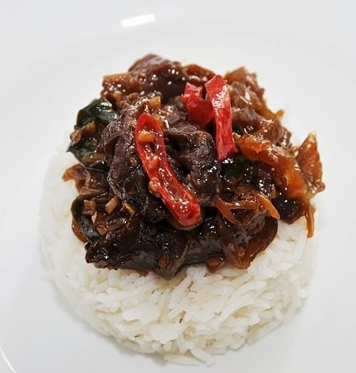 Beef Recipes :Beef with Lemongrass & Chiles Stir Fry Recipe