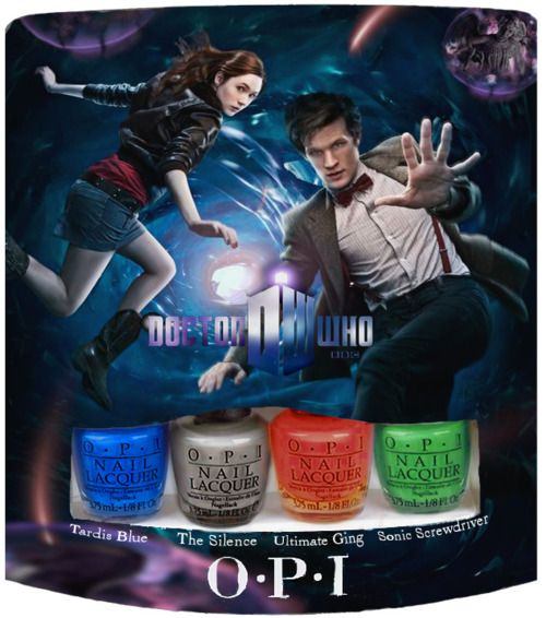 Doctor Who nail polish! Geeky girls, rejoice!
